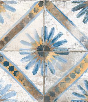 Foligno Marrakesh Blue_45x45