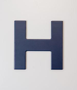 Blue H Tile