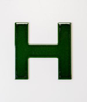 Green H Tile